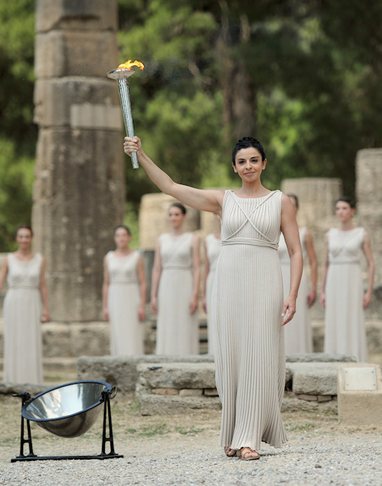 Olympic Torch Lighting Ceremony London 2012