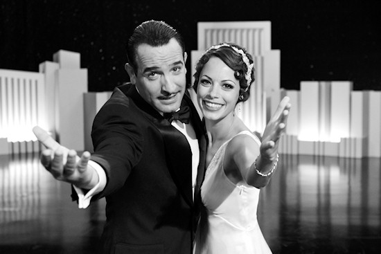 The Arist Film Poster: Jean Dujardin and Bérénice Bejo