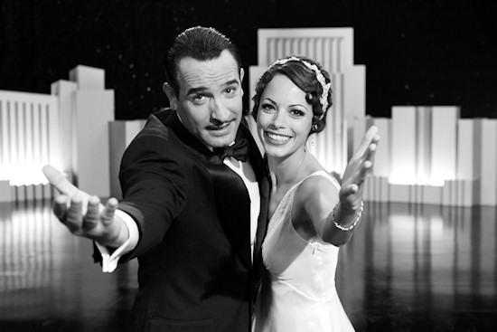 The Arist Film Poster: Jean Dujardin and Bérénice Bejo