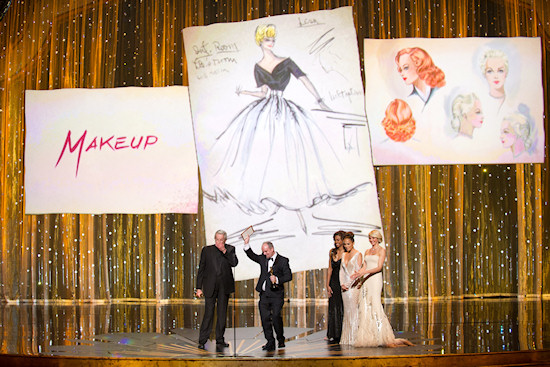 Oscars 2012: Best Makeup Stage