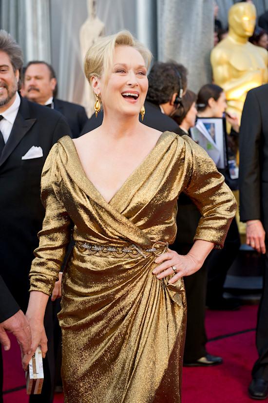 Oscars 2012: Meryl Streep