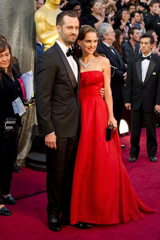 Oscars 2012: Benjamin Millepied and Natalie Portman