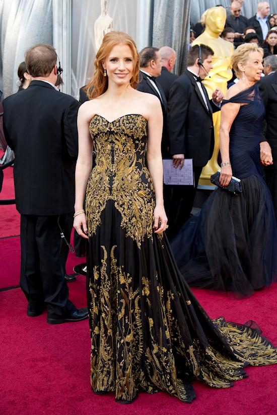 Oscars 2012: Jessica Chastain