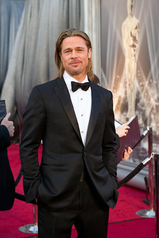 Oscars 2012: Brad Pitt