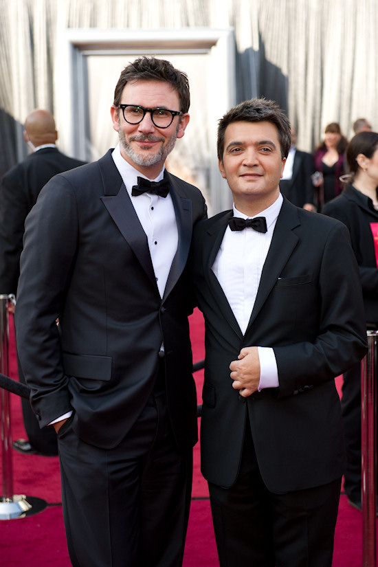 Oscars 2012: Michel Hazanavicius and Thomas Langmann