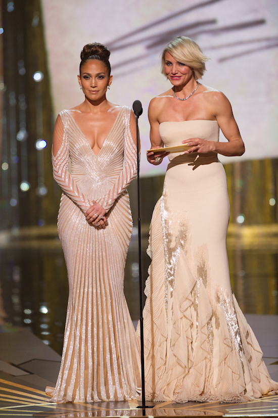 Oscars 2012: Jennifer Lopez and Cameron Diaz