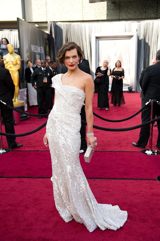 Oscars 2012: Milla Jovovich
