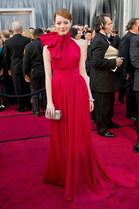 Oscars 2012: Emma Stone