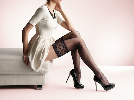 Palmers Lacens (Lace) Stockings