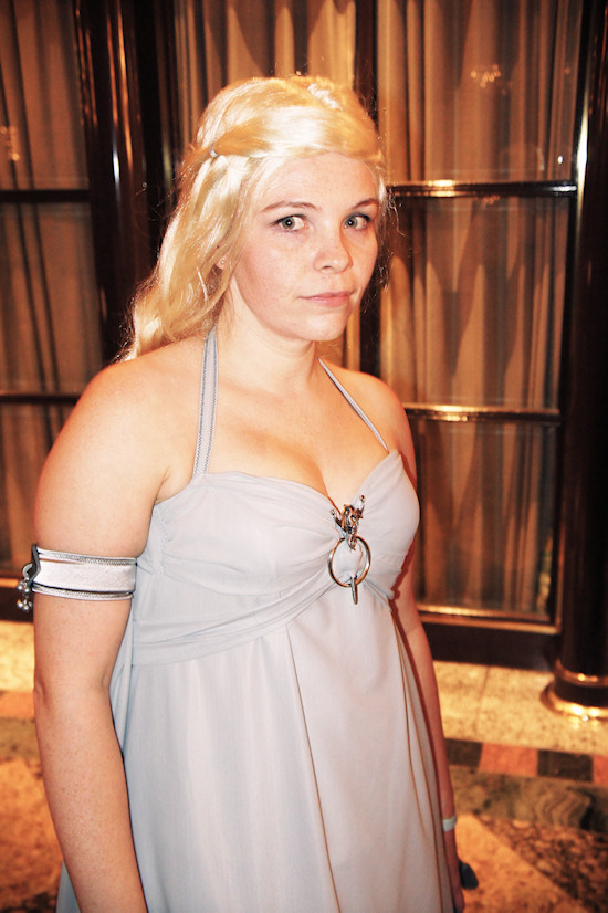 RingCon 2012 Fantasy Outfits: Khaleesi (Game of Thrones)