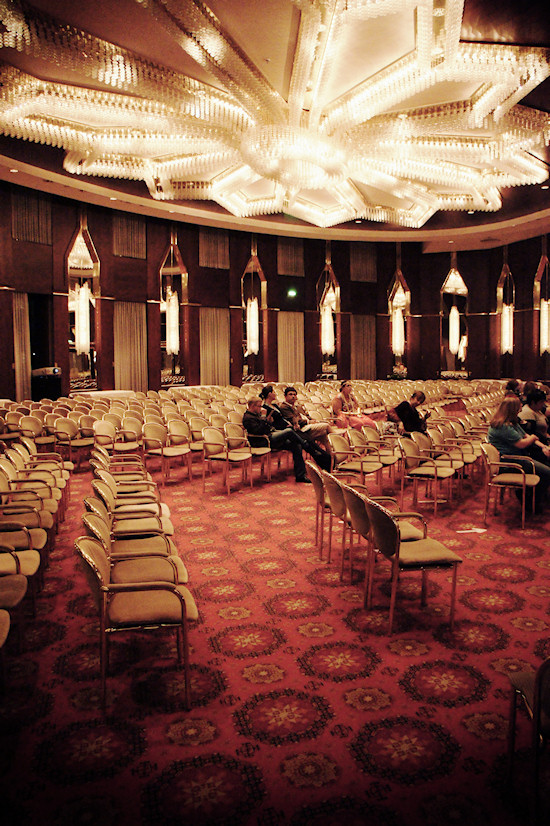 Beethoven Hall at the Maritim Hotel Bonn @ RingCon 2012