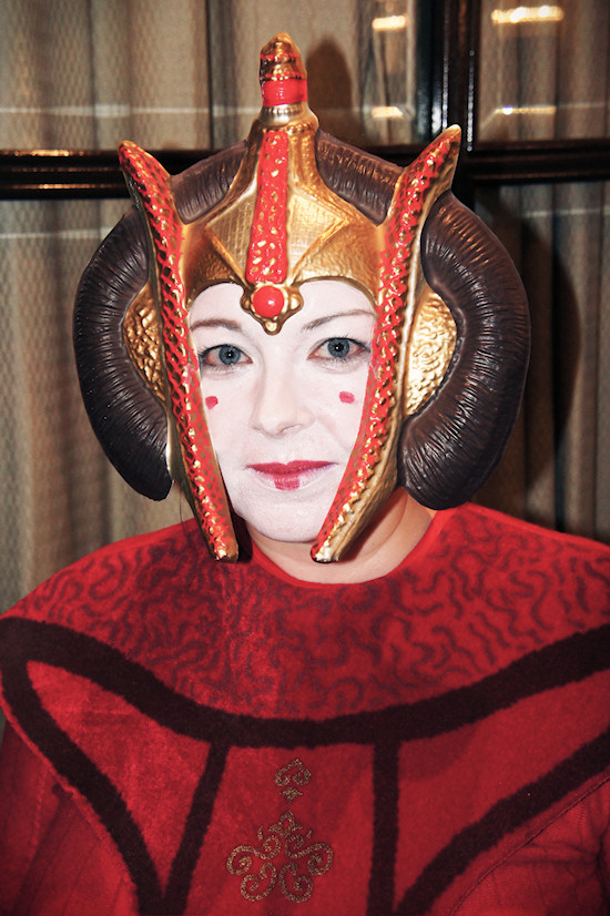 RingCon 2012 Fantasy Outfits: Star Wars Queen Amidala Outfit