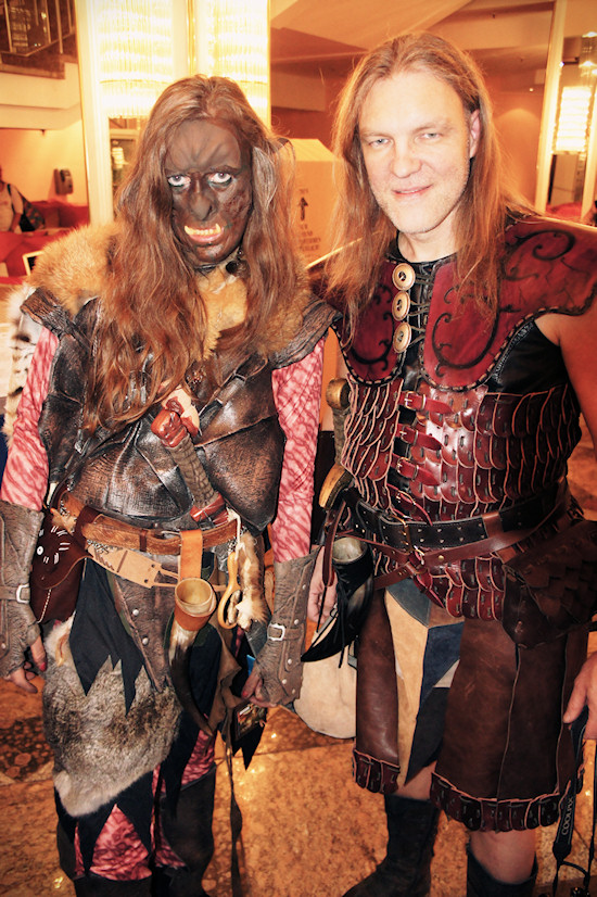 RingCon 2012 Fantasy Outfits: Thor and Orc
