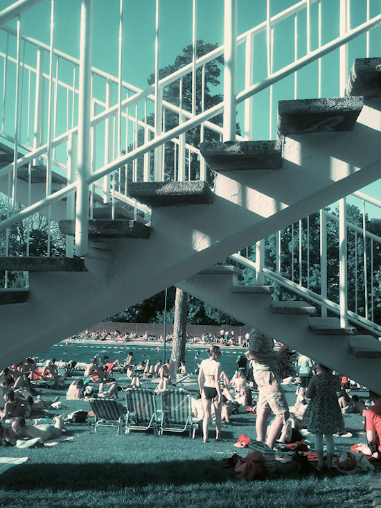 Schönbrunnerbad: Staircases