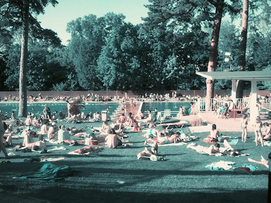 Schönbrunnerbad: Sun Bathing
