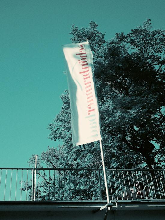 Schönbrunnerbad: Flag and Sun Terrace