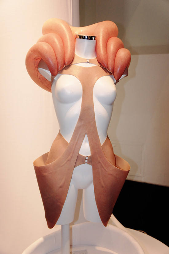 Skinny Dress Like Living Organisms @ TECHNOSENSUAL exhibition
