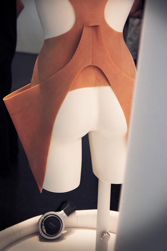 Skinny Dress Bottom @ TECHNOSENSUAL exhibition