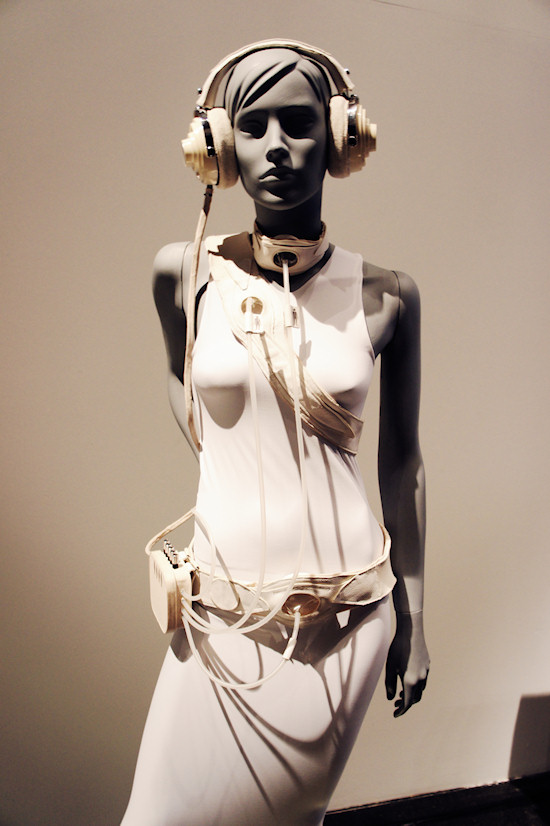 Body Sounds Recording Dress @ TECHNOSENSUAL exhibition