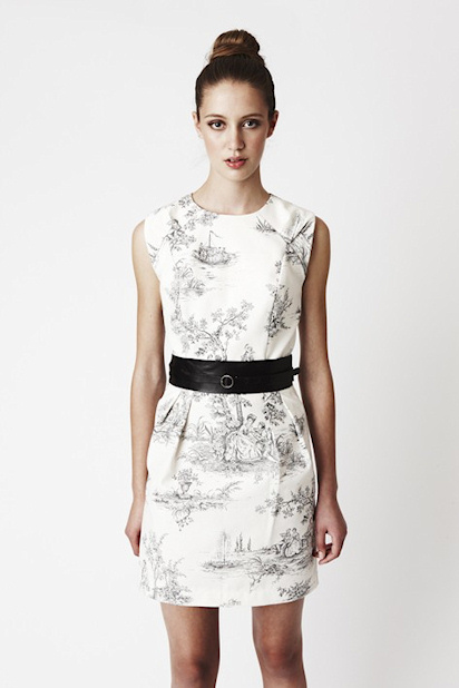 Toile Dress