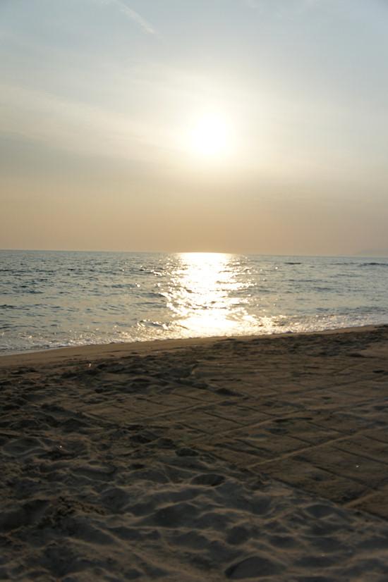 Viareggio Beach Sunset