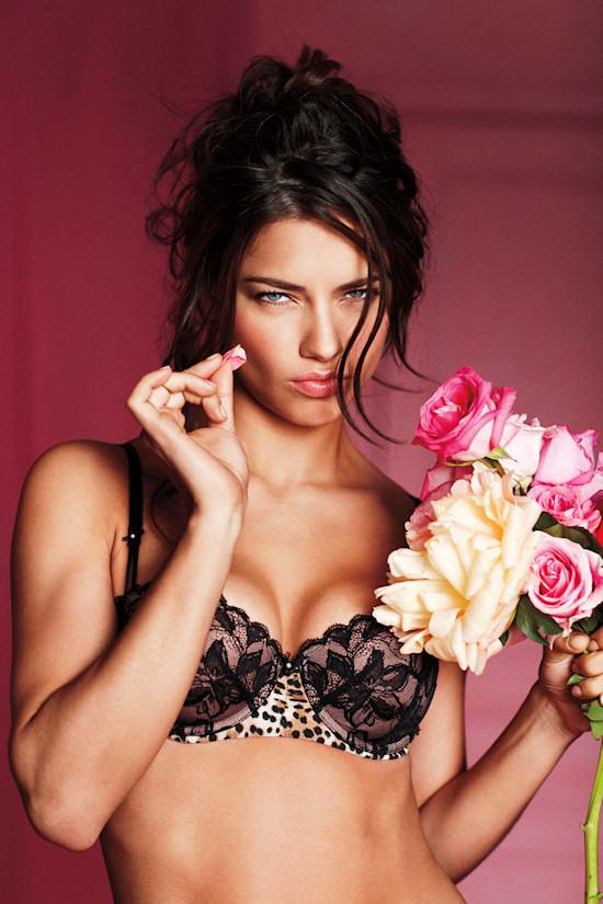 Adriana Lima for Victoria's Secret Valentine's Day