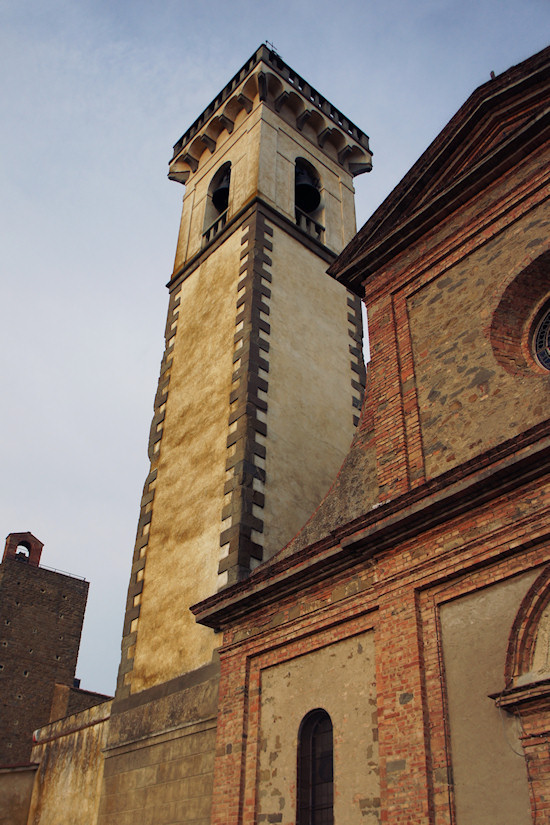 Church Of The Holy Cross in Vinci, Italy. Chiesa di Santa Croce.