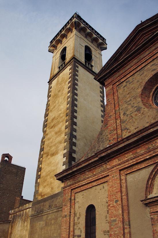 Church Of The Holy Cross in Vinci, Italy. Chiesa di Santa Croce.