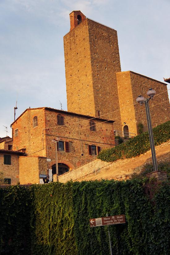 Castle of the Counts Guidi / Castello dei Conti Guidi in Vinci, Italy.