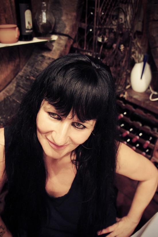 Xena Zellich @ Ristorane Leonardo in Vinci, Italy