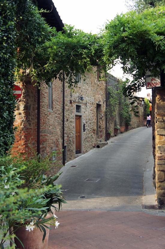 Vinci, Italy: Narrow Street