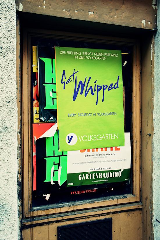 Volksgarten Get Whipped Poster