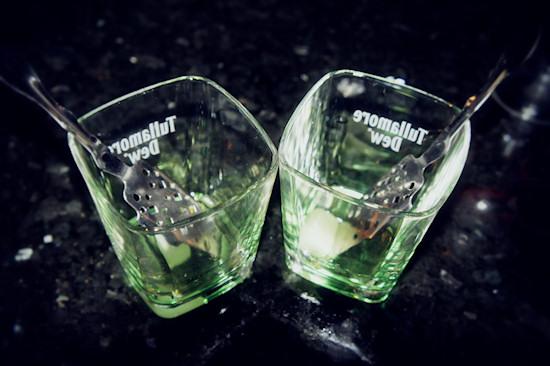 Two Glasses of Absinthe @ Graffiti Hardrock Club Vienna