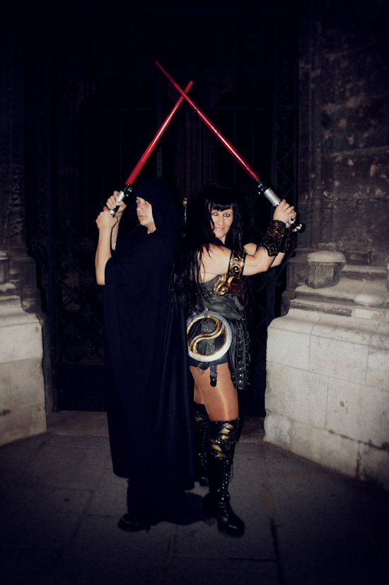Xena vs Sith Lord
