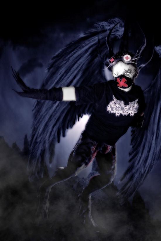 Ancalime Gothic Fantasy Photo: Model Daniel