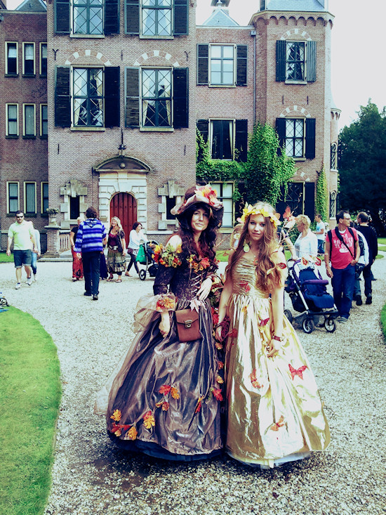 Fantasy Outifts Butterfly Dresses @ Castlefest