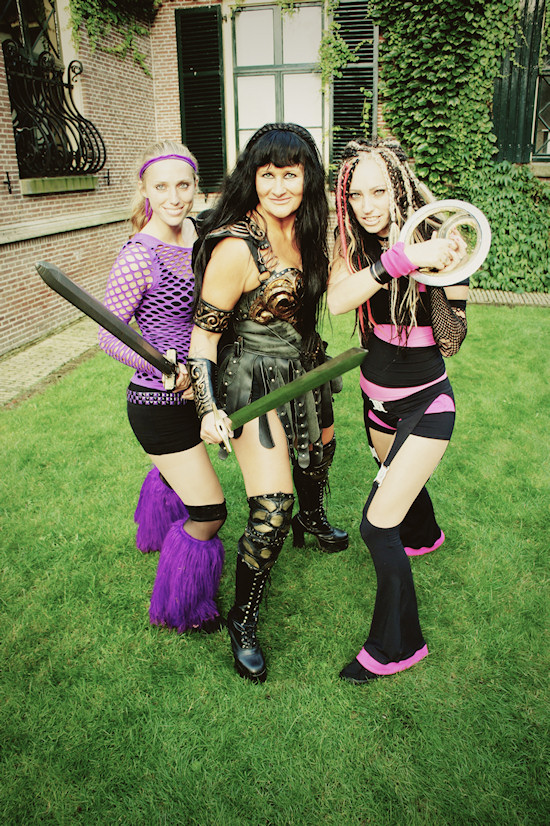 "Xena""s Girl Power @ Castlefest 2012"