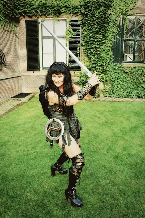 Xena Live Action Show @ Castlefest 2012
