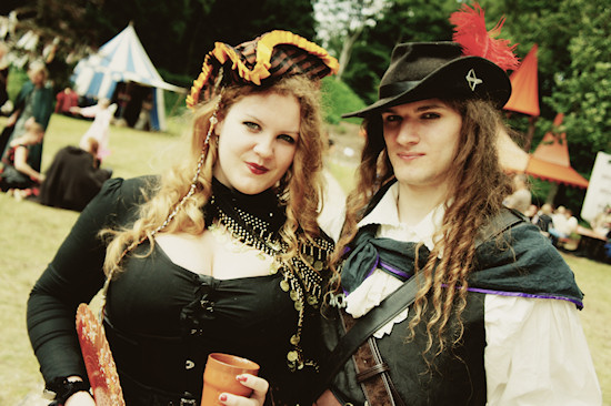 Fantasy Couple @ Castlefest 2012