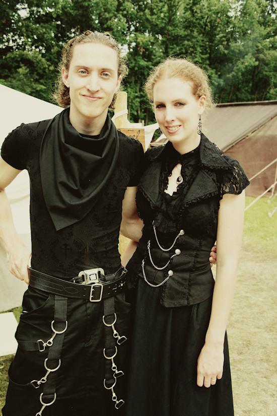 Gothic Couple @ Castlefest 2012