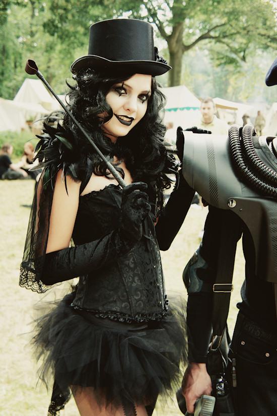Castlefest Gothic Outfit Riding Crop