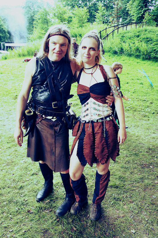 Castlefest Thor and Amazon Outfit