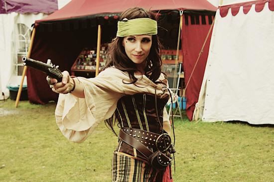 Castlefest Pirate Outfit: Moniek Kerseboom De Koning