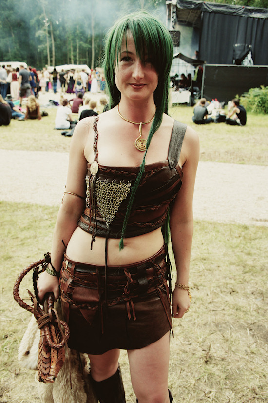 Castlefest Jane Jungle Outfit