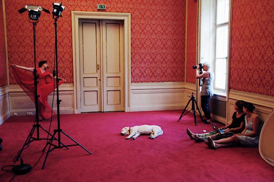 Stefan Schobesberger Fashion Collection Shooting @ Palais Schönburg
