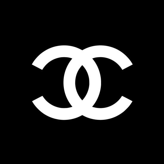 Chanel Logo White CC