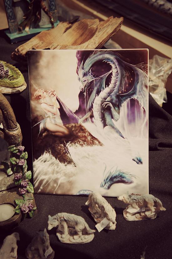 Dragon Fantasy Painting