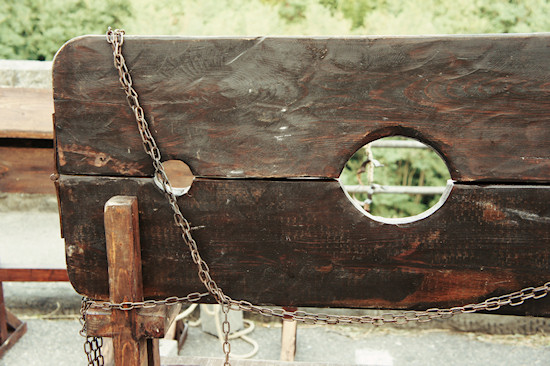 Medieval Wooden Pillory