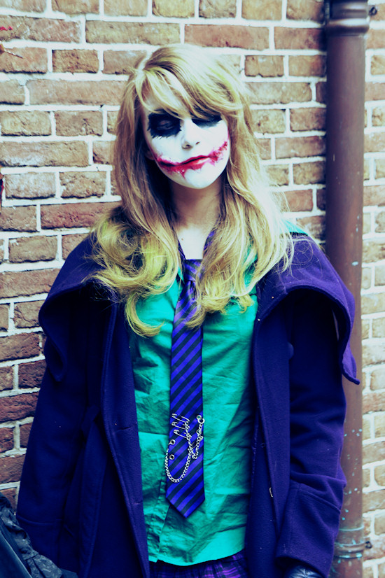 Female Joker Cosplay @ Castlefest 2012