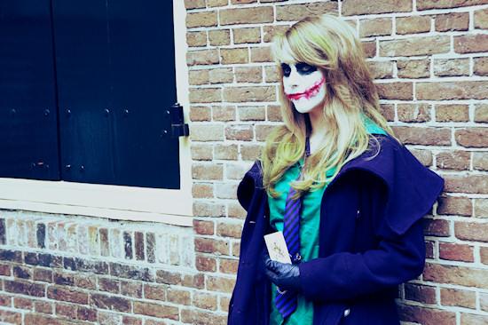 Female Joker Cosplay @ Castlefest 2012